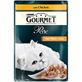 Purina Gourmet Perle Mini Fillets in Gravy with Chicken 24 x 85g