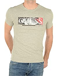 Guess T-shirt Discolsure Gris