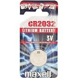 Maxell CR2032 Pile bouton au lithium pour carte mère 3 V Lot de 5