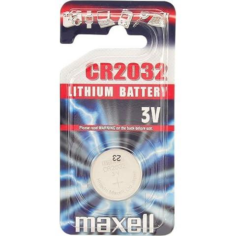 Maxell CR2032 - Pila de botón de litio 3V Set de 5
