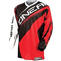 Element O'Neal bambini Jersey Race wear rosso Kids u.bsv MX DH Enduro Quad protezione per bicicletta, 0025R -3