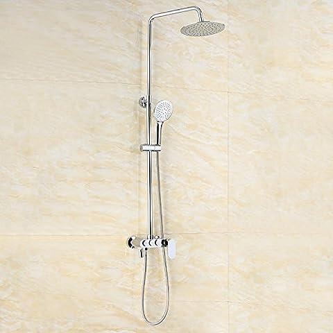 BFDGNResistente e robusto il rame spazzolato Rubinetti per lavandini bagno
