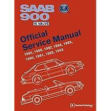 SAAB 900 16 Valve Official Service Manual: 1985-1993 (Workshop Manual)