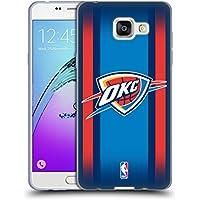 Officiel NBA Gradient De Demi-Teinte Oklahoma City Thunder Étui Coque en Gel molle pour Samsung Galaxy A5 (2016)