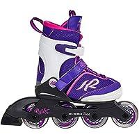K2 Mädchen Inline Skates Marlee Pro Mehrfarbig - ABEC 3 Kugellager Softboot - Größe Verstellbar - Kinder Inlineskates Anfänger