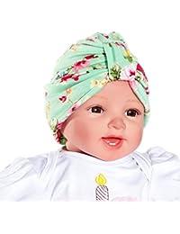 Weiyun Baby Bowknot Headwear Hat Kids Bling Bowknot Turban Indian Cap  Beanie Hat Baby Girls Toddler 17607971e4ae