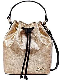 Barbie Sac à Main/Epaule/Bandoulière/Porté à la série de Mode Elégant pour Filles/Femmes Shopping Fashion en cuir TPU de couleur pure # BBFB348