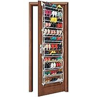 KEPLIN 36 Pair Over Door Hanging Shoe Rack Shelf Organiser Hook Holder  Storage Stand