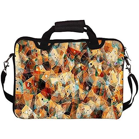 Snoogg Laze motivo geometrico per Laptop con tracolla, 13 cm a 34,54 (13,6