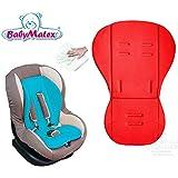 Baby Matex * * térmica activa Memory Foam Asiento Asiento para/renis * * universal para portabebés, asiento de coche, por ejemplo para maxi-cosi, Römer, para carrito O. Buggy etc. * * rojo * *