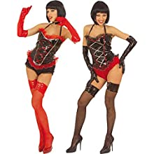 Corset Vinyl 2Cols Accessory for Sexy Lingerie Stockings Fancy Dress