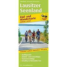 Lausitzer Seenland: Rad- und Wanderkarte mit Ausflugszielen, Einkehr- & Freizeittipps, wetterfest, reissfest, abwischbar, GPS-genau. 1:50000 (Rad- und Wanderkarte / RuWK)