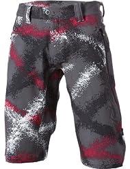 Sombrio MTB Shorts N Fluence Freeride Wet Cement Galaxy Print