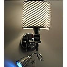 DZXYA LED moderni maschera di garza al posto letto luci a parete Luci, B corsia