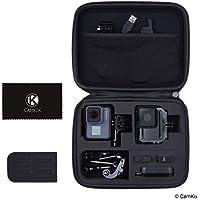 CamKix Tasche kompatibel mit GoPro Hero 7/6 / 5 - Perfekt für Transport und Aufbewahrung - Vielseitige Eva-Auskleidung mit präzise passendem Schnitt - Haltbar und robust
