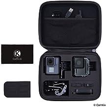 CamKix - Funda iGoPro Hero 6 / 5 y accesorios - Mantiene tu GoPro y accesorios totalmente protegidos - limpieza de microfibra