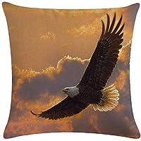 Decorativa almohada Águila África animales impresión Impreso Sofá Decoración Cojín Caso agarre Bar Funda de almohada