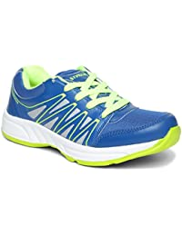 PARAGON Stimulus Men's Blue & Silver Sports Shoes