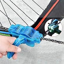 ICYCHEER Limpiador de Cadena de Bicicleta Limpiador de Cadena Cepillo de Limpieza Herramienta para Ciclismo Bicicleta