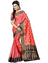 Nirja Fab Women Cotton Silk Banarasi Saree