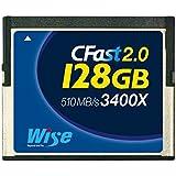 CFAST CFA-1280 2.0/128GB Wise R/W 528MB/320MB for Blackmagic URSA/ Blackmagic URSA Mini - Canon XC10 e EOS C300 MarkII