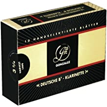 Gonzalez hojas BB de clarinete German Cut 4