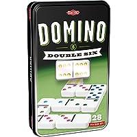 Tactic Domino Double 6 Niños y Adultos Juego de táctica - Juego de Tablero (Juego de táctica, Niños y Adultos, 20 Min, Niño/niña, 5 año(s), 99 año(s))