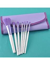 GUO Tubes en fibre de laine Violet 7 ensemble de brosse débutant