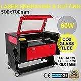 FurMune Laser Graviermaschine Laser Gravur Maschine Co2 Laser Engraving Machine USB Schnittstelle 60W Präzise und Schnelle (60W)
