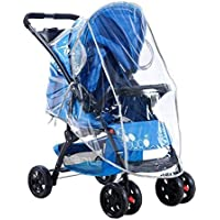 Cochecito de bebé plegable para la lluvia, carro transparente para el carrito del parabrisas,