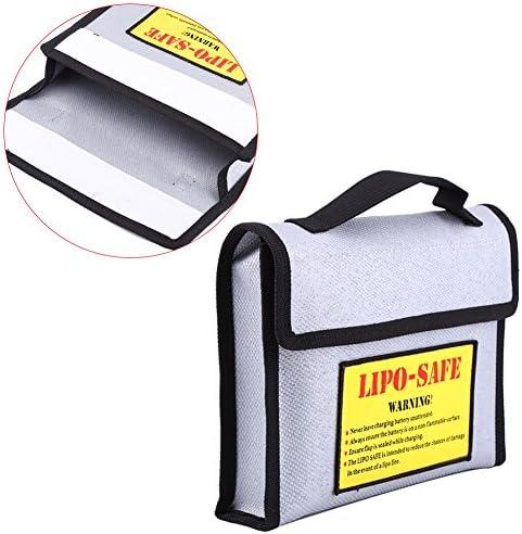 Dilwe Sac de de de Stockage de Batterie Lipo, Sac Portable Sac de Protection Sac antidéflagrant Ignifuge pour Batterie lipo | Des Produits De Qualité,2019 New  93228b