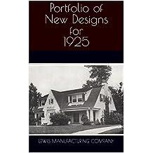 Portfolio of New Designs for 1925 (English Edition)