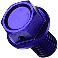 Zeta ölablassschraube magnético, Azul, KAWASAKI KX 65/85/125/250,