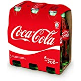 Coca Cola refresco - Pack de 6 X 20 cl - Total: 120 cl