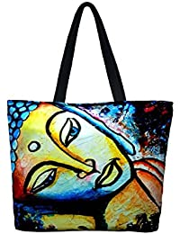 Vj's Hand Bagwith Multi Color(12 Inch * 10 Inch) - B079HT671G