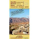 K13: Tafraoute nord - Tizourgane - Igherm 1:120.000 GPS - Waypoints: Marokko - Straße der Agadire / IGOUDAR (Touristische Lan