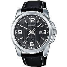 Casio Reloj Analógico de Cuarzo para Hombre con Correa de Cuero – MTP-1314PL-8A