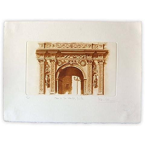 Arco de plaza de San Francisco - Sevilla
