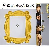 SERIE FRIENDS TV SHOW FRAME Cadre FRIENDS: ♥♥♥ F.R.I.E.N.D.S Série: ♥♥♥ cadre du judas dans la série Friends. Le cadre qui se trouvait dans le judas de la porte Monica en F.R.I.E.N.D.S. FRAME FRIENDS TV SHOW