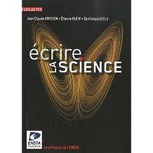 Ecrire la science
