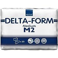 Abena Delta-Form 2 Protections pour incontinence Revêtement en plastique 2500 ml 70-110 cm
