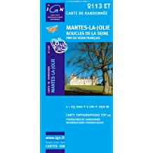 Mantes-la-Jolie / Boucles de la Seine / PNR Vexin Fr. gps