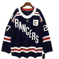 Madonna # 27 Camiseta de Hockey sobre Hielo Camiseta de Hockey sobre Hielo Ropa Deportiva Alfabeto Bordado Retro Ropa Deportiva Uniforme del Equipo de competición 50-60