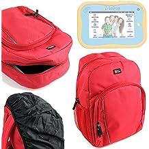 DURAGADGET Mochila Para Niños Para Lexibook Tablet Junior ( MFC270DE )   Junior 2 ( MCF280 ) + Funda Impermeable - Alta Calidad