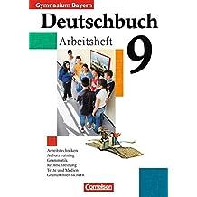 Deutschbuch Gymnasium - Bayern: 9. Jahrgangsstufe - Arbeitsheft mit Lösungen