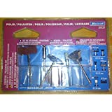 Papel de lija/Kit de pulido Maxicraft