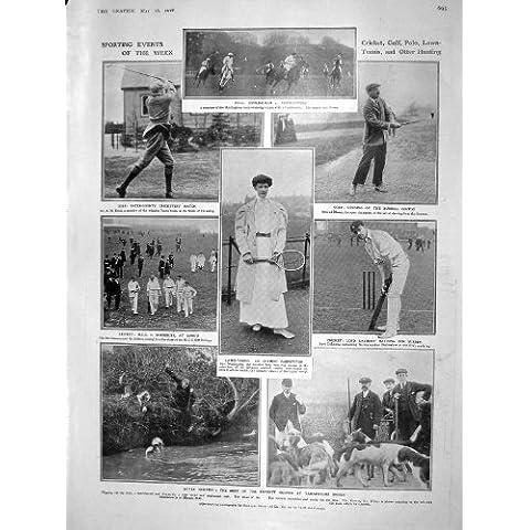 Grillo 1908 Del Polo Golf De La Caza De La Nutria De Wallenberg Del Tenis