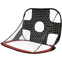 Portería de Fútbol para Práctica de Deportes al Aire Libre para Niños Color Rojo