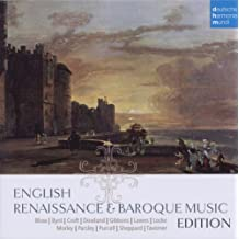 English Renaissance And Baroque Music Edition