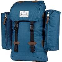 Poler Stuff Partes Bag Retro Azul Azul Marino Talla:50 x 40 x 6 cm, 18 Liter